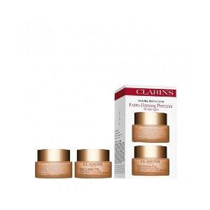 Clarins美国官网日霜+晚霜$180,变相6折弹簧日霜+晚霜套装 2*50ml