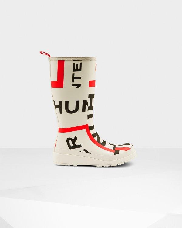logo长筒雨靴