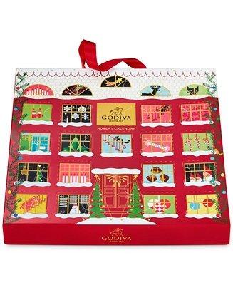 巧克力松露圣诞日历 24颗