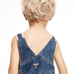 Up to 50% Off + 20% Off $40+ & Fun CashBaby B'gosh & the World's Best Overalls @ OshKosh BGosh