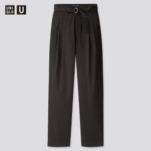 UniqloU系列 腰带阔腿裤