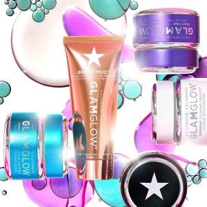 无门槛7.5折Glamglow 护肤产品亲友大促 收明星面膜、六酸水