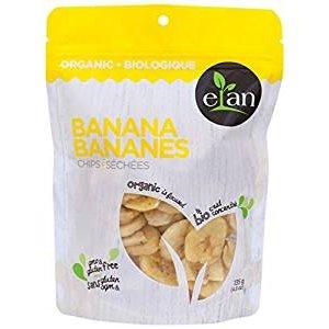 $2.54(原价$5.08)ELAN 有机香蕉脆片,香香甜甜来几包!