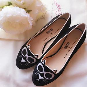 精选85折 £276 入喵咪鞋即将截止:Charlotte Olympia 美鞋美包热卖 猫咪鞋呆萌款让你从头萌到脚!
