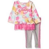 Juicy Couture 女婴裙式上衣+长裤