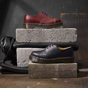低至4折 £121收牛津小皮鞋Dr. Martens 人气马丁靴春季大促 超多小众不撞款这里有