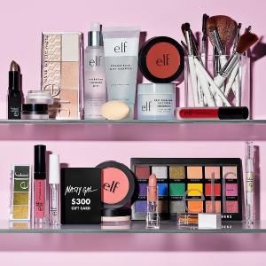 $10 Off $40 + Free Giftse.l.f. Cosmetics Beauty Sale