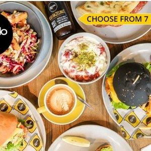 $5购买$10代金券  7店可用Piccolo Me  菜单中任意食品、饮料可用的代金券促销