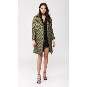Mackagequilted lightweight down coat
