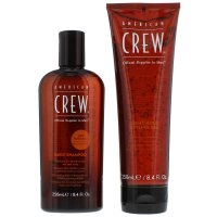 American Crew Gifts & Sets Daily Shampoo 250ml & Light Hold Gel 250ml