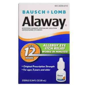 低至$4.18博士伦多款药水 日常润滑、抗过敏、隐形眼镜滴眼配方好价收