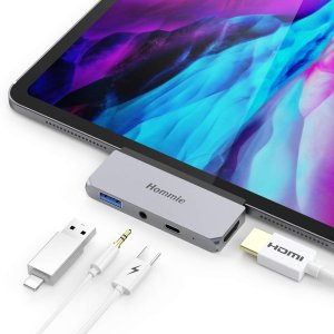 Hommie USB-C iPad Pro (18&20款) 4合1拓展坞