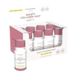 MyVitamins促进头发、皮肤、指甲的健康生长胶原蛋白 60mlx12罐