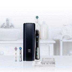 $89.94 (原价$129.94)Oral-B Pro 7000 智能蓝牙电动牙刷 带3个刷头 黑色