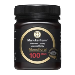 Manuka Pharm100 MGO医用抗菌蜂蜜 250g