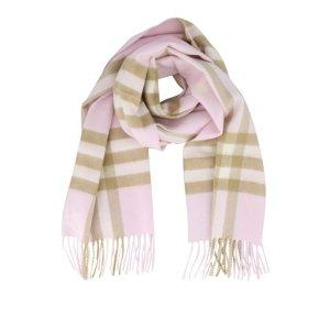 Burberry格子围巾