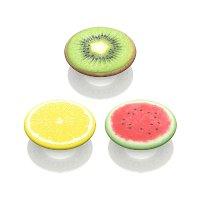PopSockets 水果主题 指环扣&背部气囊支架 3个装