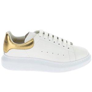 Alexander McQueen金尾小白鞋