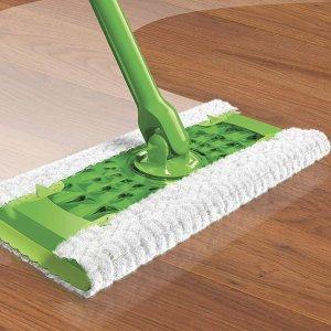 $7.57(staples$9.99)近史低价:Swiffer 地板清洁湿巾 吸尘除毛发 24片装 轻松大扫除