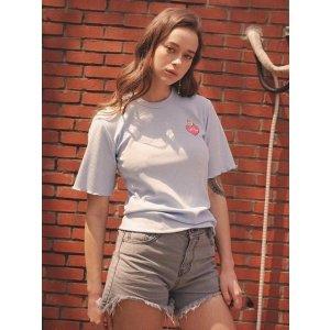 w concept爱心独角兽T恤