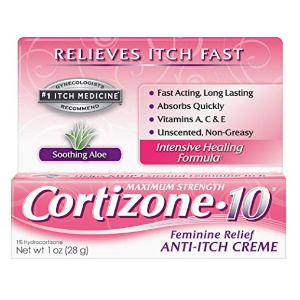 $4.29 过敏湿疹必备Cortizone-10 快速止痒膏 30g 女性专用