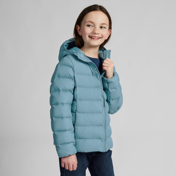 女童超轻保暖外套