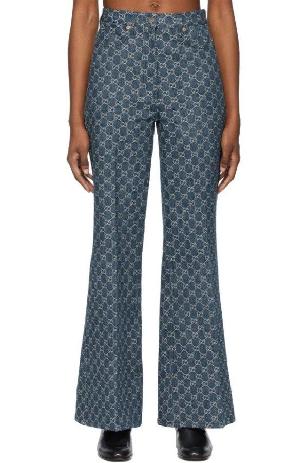 单宁系列 喇叭裤