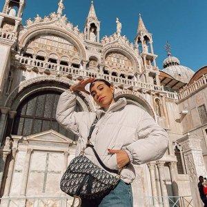 €720收深色老花马鞍包Dior 迪奥中古包专场 品相、价格都美好