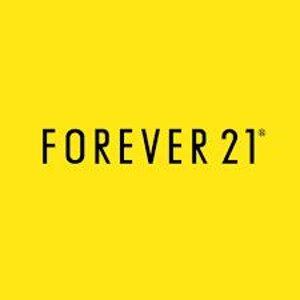 线上低至5折+满额免邮Forever 21 实体店即将回归 又要见面了 平价衣橱小伙伴