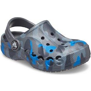 Crocs迷彩儿童洞洞鞋