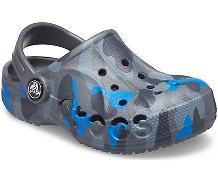 迷彩儿童洞洞鞋