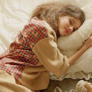 6.8折+额外9折ULLALA PAJAMA 仙气睡衣热卖 在家也要穿得精致漂亮