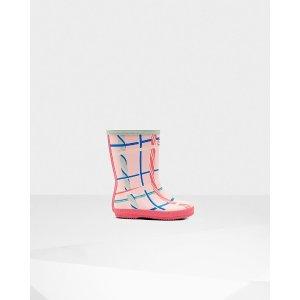 HunterOriginal Kids First Classic Tartan Print Rain Boots