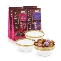 Godiva 松露巧克力试吃装 19粒装 6包
