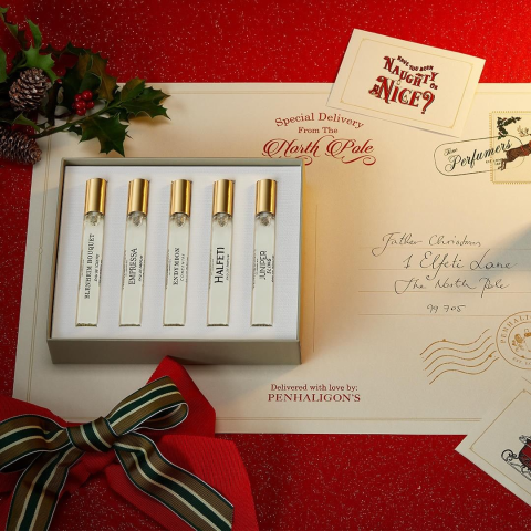 50ml仅售$125、100ml售价$289Penhaligon's 香氛5件套变相5折 含断货王琴酒!