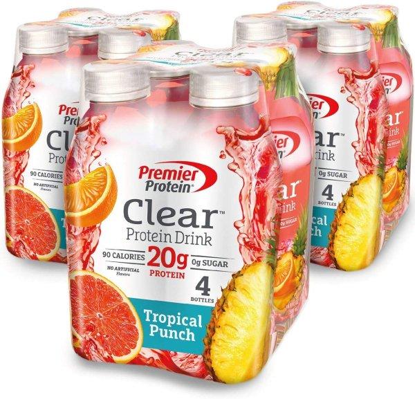 Premier Protein 果味饮料  高蛋白、低卡低碳水、不含糖