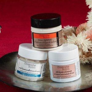 海盐、玫瑰清洁膏¥254 直邮中国Christophe Robin 洗发低至7折,海盐洗头膏+鳄梨发膜¥627