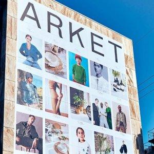 8.5折!£12收粉色T恤Arket 初秋新款好价 北欧风简约设计 高质感必备