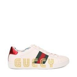 Guccy Logo 小白鞋