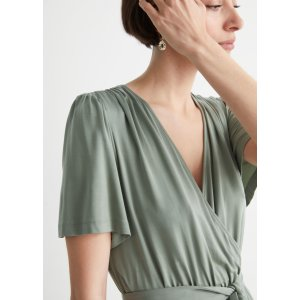 & Other StoriesBelted Wrap Dress