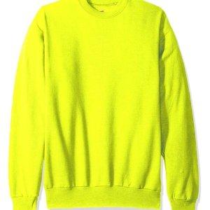 50% Off Hanes Men's Ecosmart Fleece Sweatshirt On Sale @ Amazon