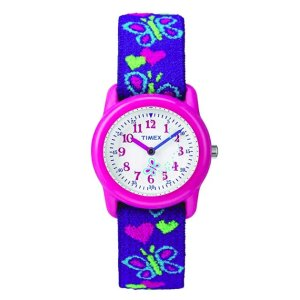 Up to 35% OffTimex Girls Time Machines Analog Elastic Fabric Strap Watch @ Amazon