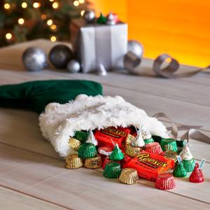 圣诞节特款巧克力热卖 圣诞挂袜小礼物必备