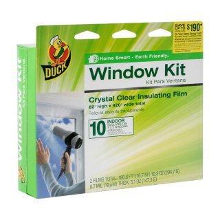 $3.99Duck Brand 10-Window 内贴窗膜套装