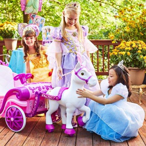 低至$39.93Disney 小公主梦幻座驾热卖 给宝贝圆梦的圣诞礼物
