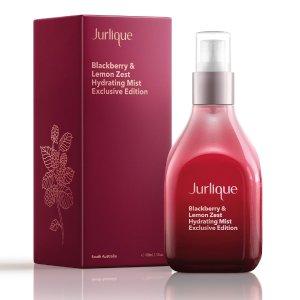 $52 包邮Jurlique 限量版黑莓&柠檬保湿喷雾 高浓度护肤