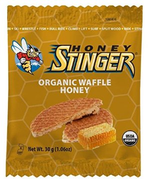 Honey Stinger Organic Waffle 1.06 Ounce 16 Count