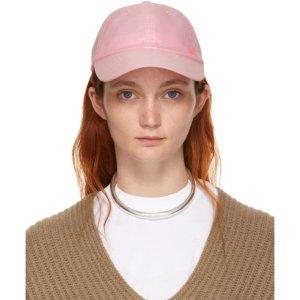 Acne Studios笑脸棒球帽