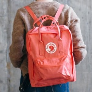 $59.96Fjallraven Kanken 16L Backpack Peach Pink Color @ Backcountry