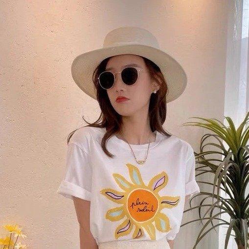 太阳花T恤